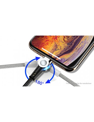 Magnetic Micro-USB to USB 2.0 Data & Charging Cable (100cm)