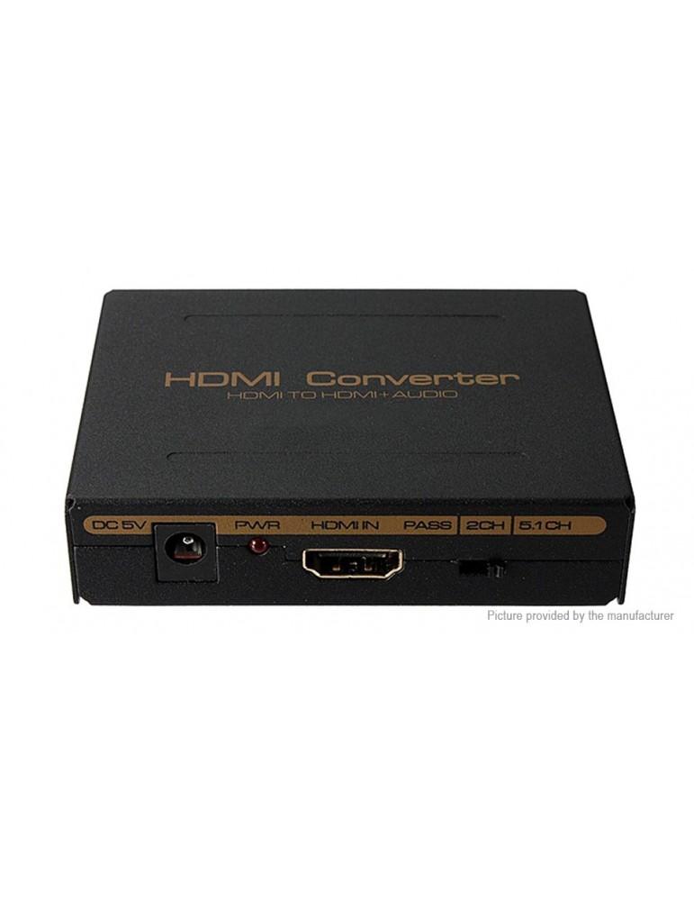 ZMT0425 1080p HDMI to HDMI + SPDIF + L/R Extractor Converter Audio Splitter