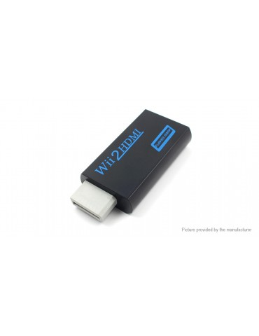 Wii to HDMI 1080p Full HD Converter Adapter
