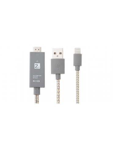 8-pin to HDMI HD TV Adapter Cable (200cm)