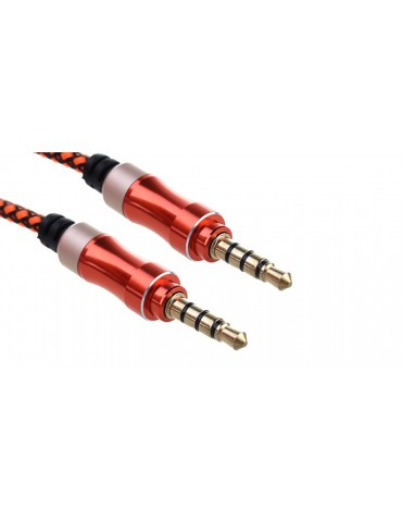 3.5mm Male to Male Braided Audio Cable (150cm)