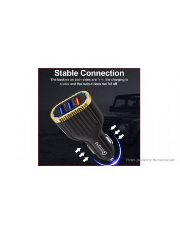 3-Port USB Car Cigarette Lighter Charger