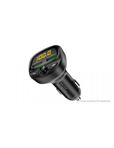 Authentic Floveme Bluetooth V5.0 Car Kit FM Transmitter MP3 Player