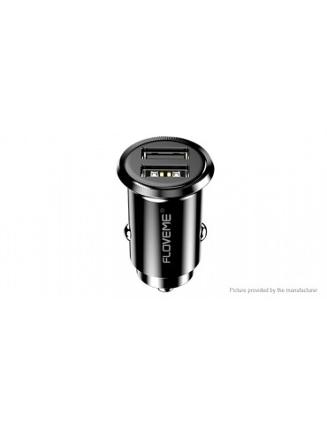 Authentic Floveme Dual USB Mini Car Charger Power Adapter
