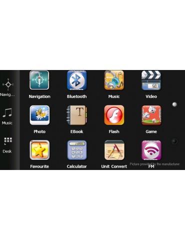 "7"" LCD Touch Screen Windows CE 6.0 GPS Navigator"