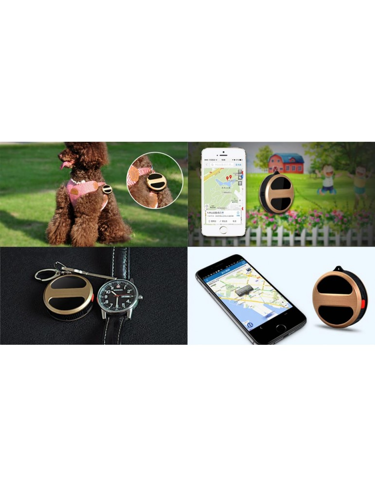 T8 Mini Personal Google Map GSM GPRS GPS Tracker Locator
