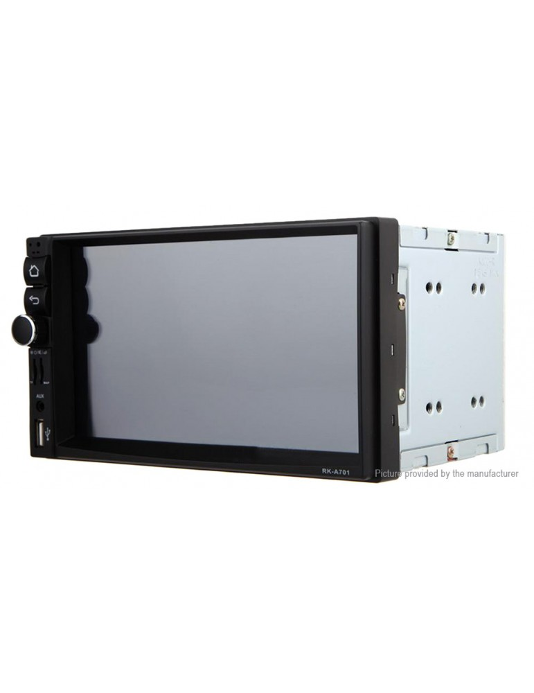 "7"" HD 2-Din Car Stereo GPS Navigation MP3 Player"