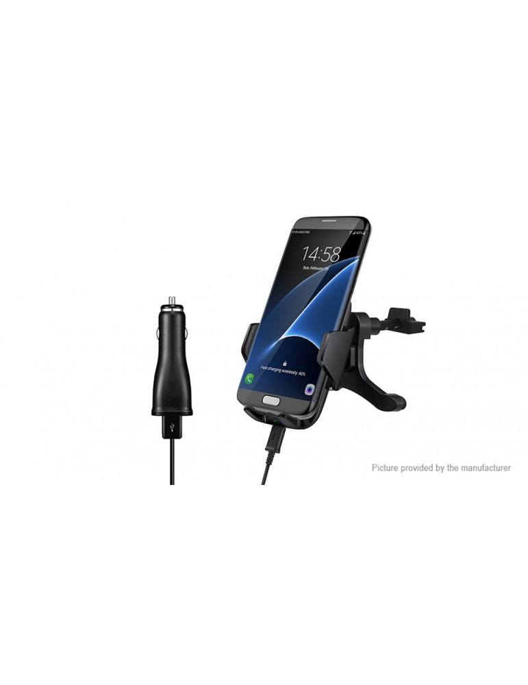 Car Mount Qi Wireless Charger Stand Holder